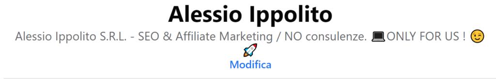 Alessio Ippolito srl facebook